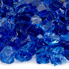 1/2 inch Cobalt Classic Fire Glass