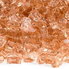 1/4 inch Champagne Classic Fire Glass