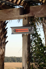 Fire Sense Well Traveled Living Stainless Steel Wall Mounted Infrared Patio Heater