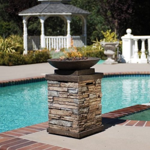 Bond Newcastle Propane Gas Fire Bowl With Cover