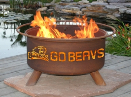 Patina Products - Oregon State University College Fire Pit - F231