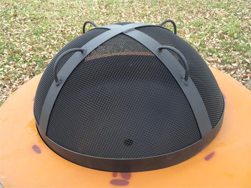 "Fire Pit Art 27.5"" Spark Guard - SG-27.5 top"