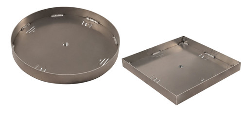 Warming Trends Custom 19 -23 inch - 1/8 inch Aluminum Pan for Cross Fire Gas Burner