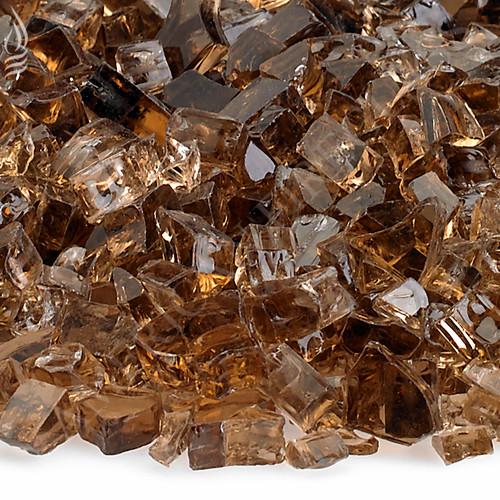 1/4 inch Copper Classic Fire Glass