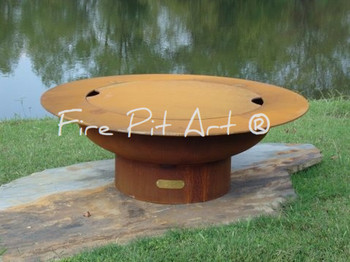 Fire Pit Art Lid Only For The 40 Quot Saturn Rings In The
