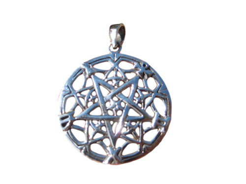 925 sterling silver wicca inverted satanic pentagram pendant 925 sterling silver wicca inverted satanic pentagram pendant necklace wicca magic a55 aloadofball Choice Image
