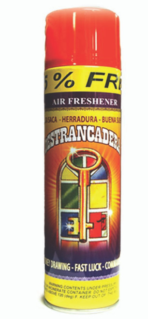 religious and esoteric air freshener o spray para limpias destrancadera