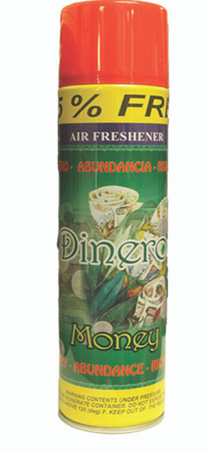 religious and esoteric air freshener o spray para limpias para el dinero