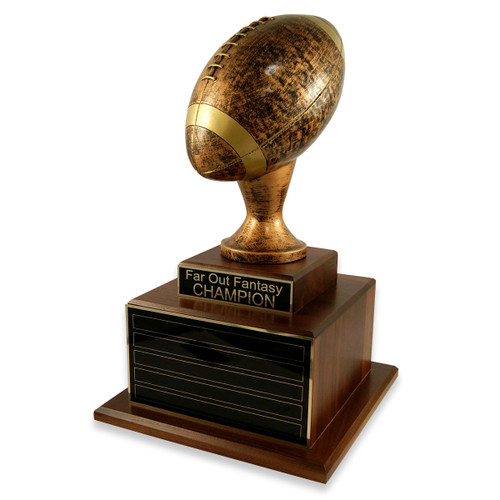 Perpetual Deluxe Antique Football Trophy