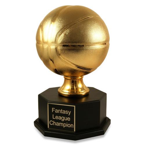 Fantasy Basketball Gold Triumph Trophy