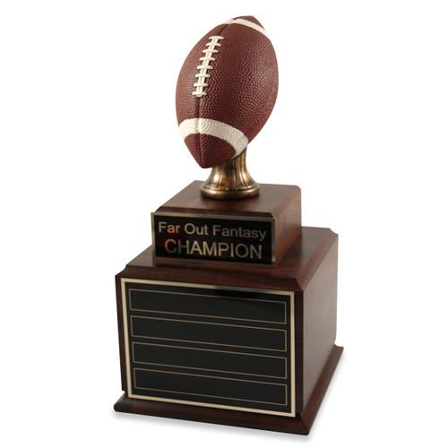 Perpetual Wood Football Trophy