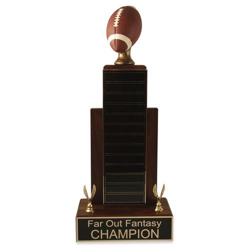 Large MVP Football Trophy