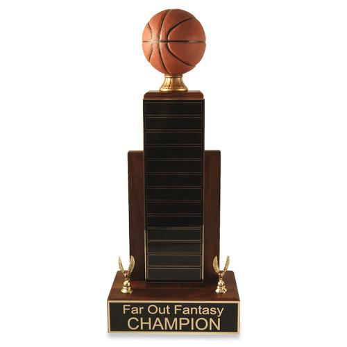 Large MVP Basketball Trophy