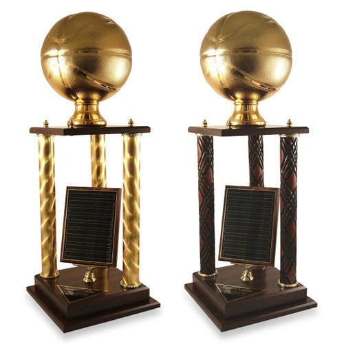 Golden Basketball Victory Trophy