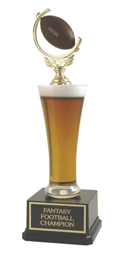 Beer Pilsner Football Trophy