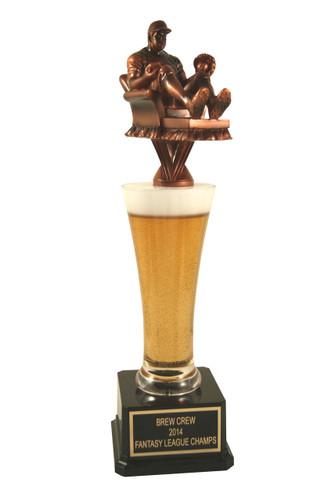 Fantasy Baseball Man Beer Award