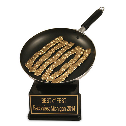 Gold Bacon Trophy