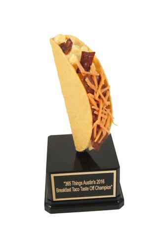 Breakfast Taco Trophy