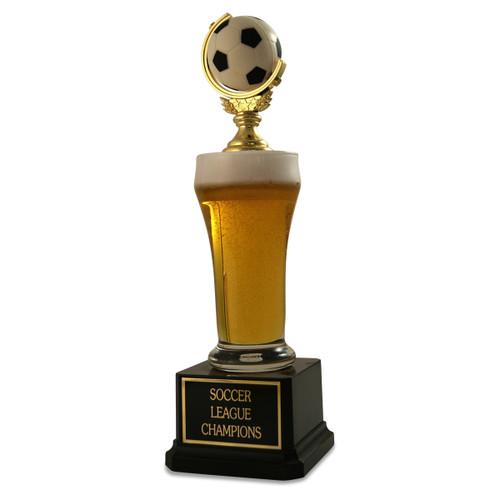 Jr. Beer Pilsner Soccer Trophy