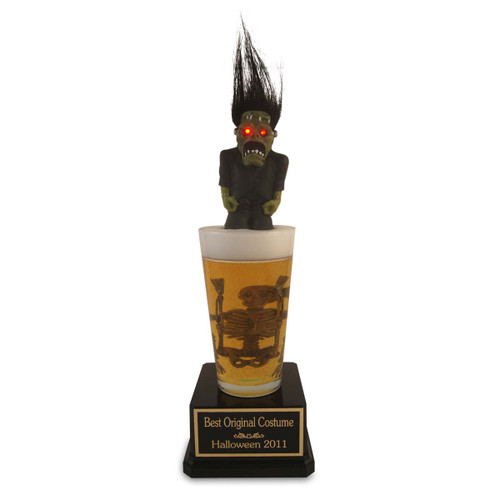 Halloween Beer Pint Monster Trophy
