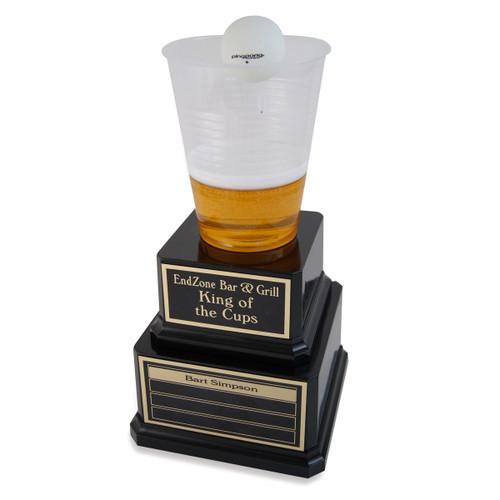 Perpetual Beer Pong Trophy