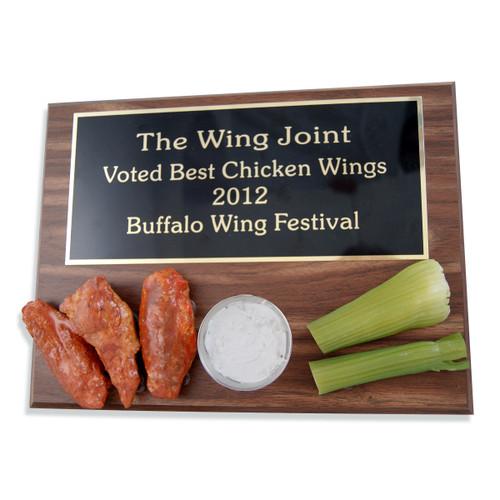 Chicken Wing Plaque