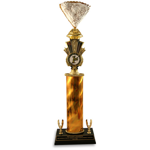 Jumbo Cream Pie Trophy
