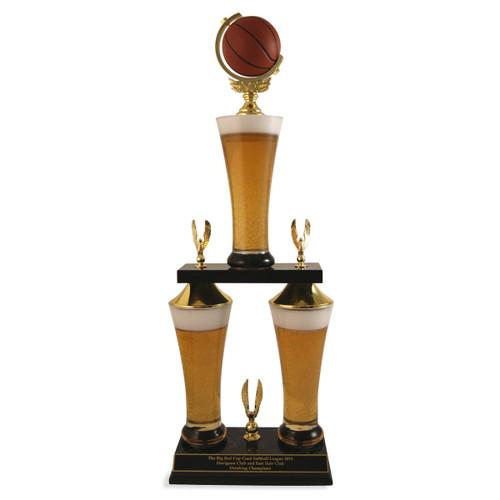 Fantasy Basketball Beer Trophy