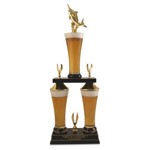 Fantasy Fishing Beer Trophy