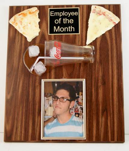 Employee of the Month Photo Plaque