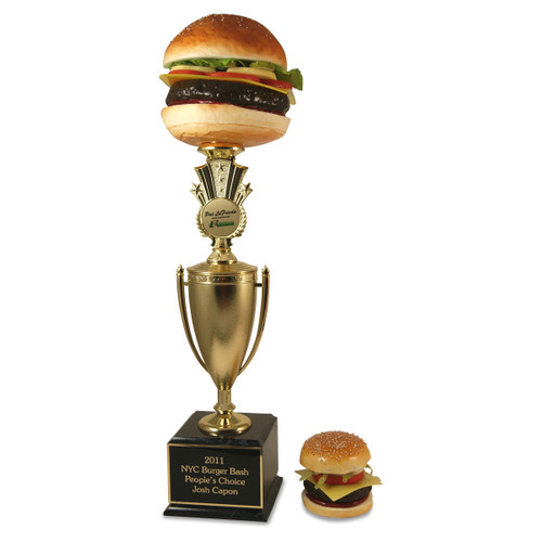Far Out Burger Trophy Cup