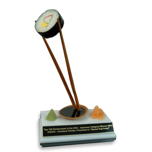 Large Cali Sushi Trophy