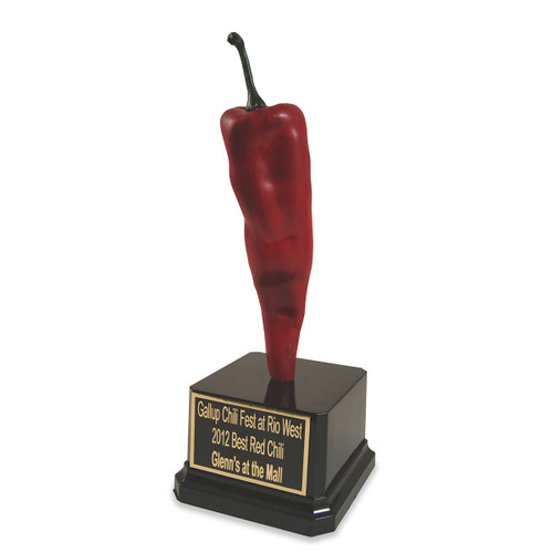 Red Hot Chili Pepper Tall Black Base