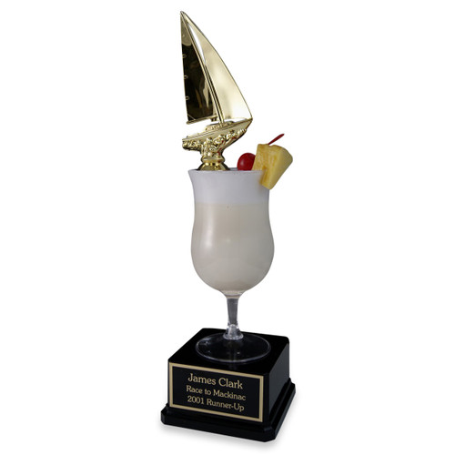 Sailboat Pina Colada Trophy
