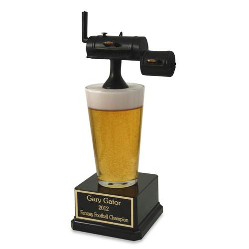 Far Out Smokin' BBQ Trophy