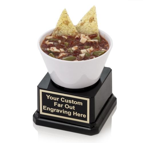 Chips in Salsa Dish Trophy