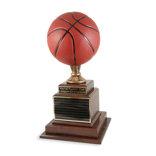 Hall of Fame Basketball Trophy