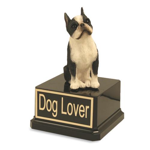 Boston Terrier Dog Trophy