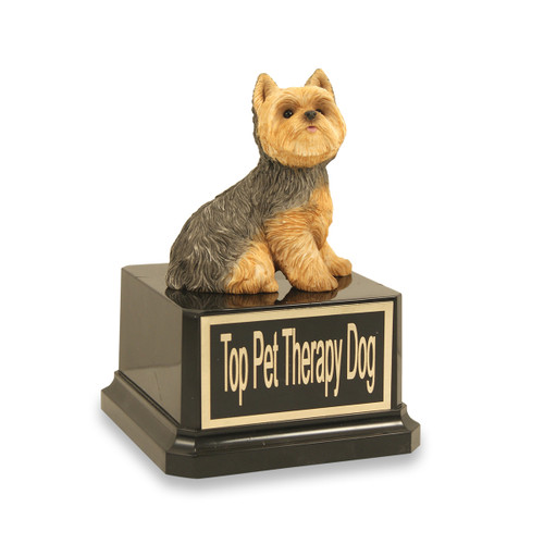 Yorkie Dog Trophy