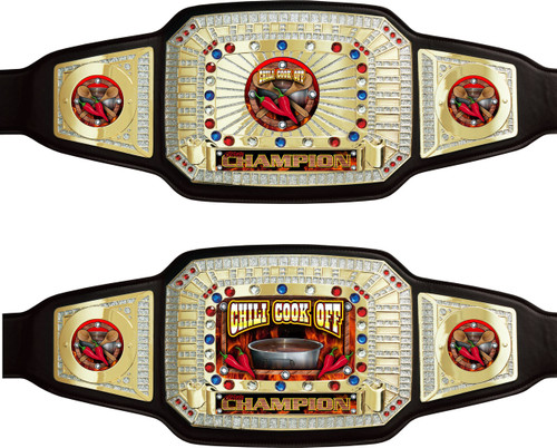 Chili Cookoff Championship Belt