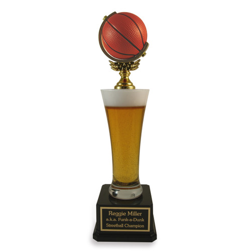 Basketball Beer Pilsner Trophy