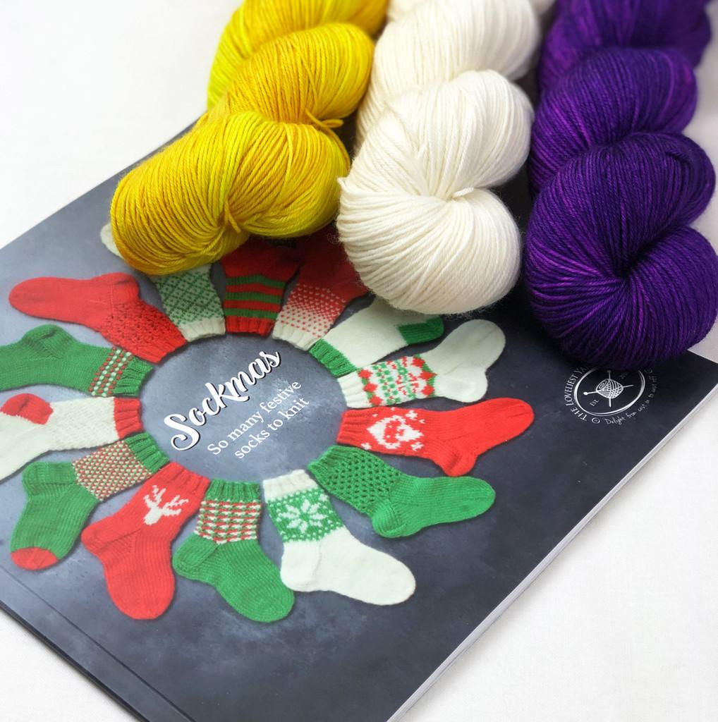 Sockmas yarn kit
