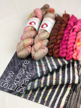 Slow exposure shawl kit