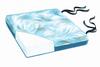"Comfort Foam 18"" Bimini Blue Vinyl Cushion, 2""H"