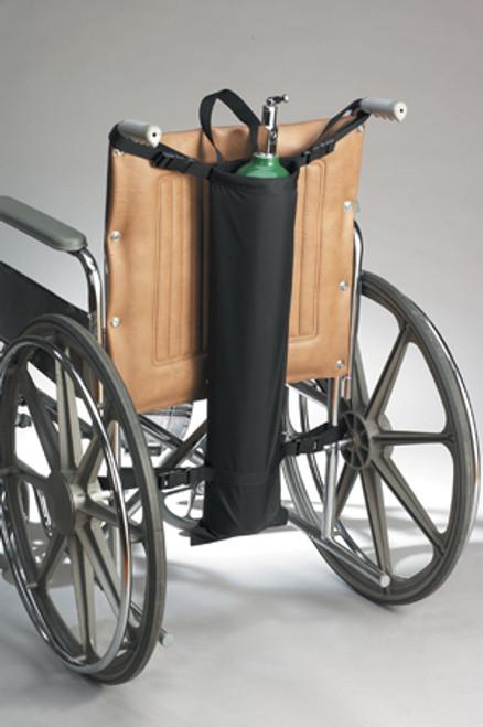 Oxygen Cylinder Holder - Single Tank for Geri-Chair