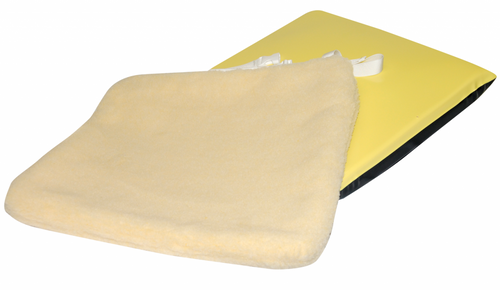 "Econo-Gel 16"" Cushion with Sheepskin Cover"