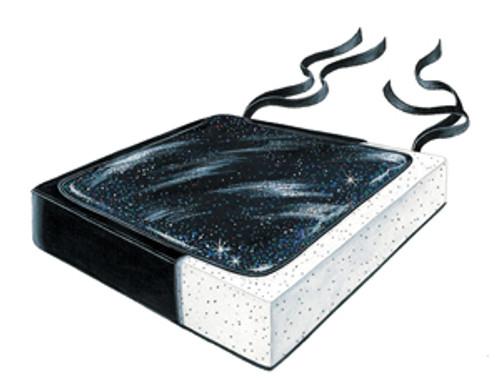 """Stary Night Gel-Foam 14"""" Cushion w/LSI Cvr"""