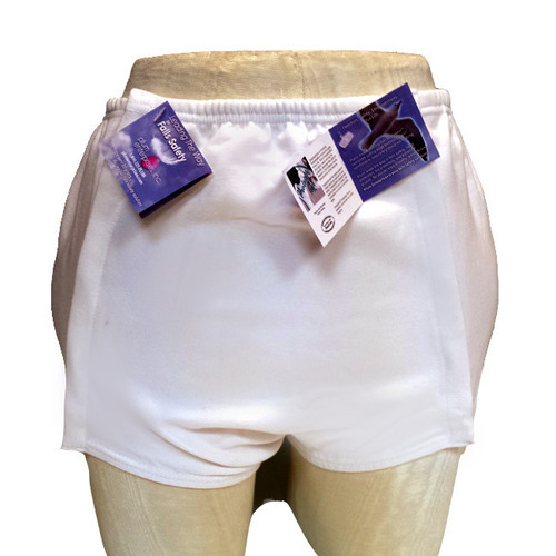 "ProtectaHip+Plus® Front Snap™, Medium. Waist: 31"" - 35"" / Hip: 37"" - 41"""