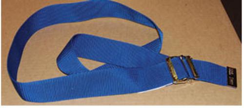 Econo Gait Belt, Blue w/Metal Buckle, 24/Pk