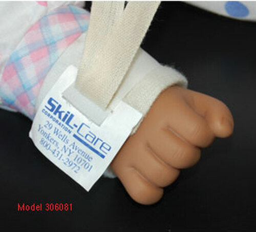 Economy Infant Limb Holder w/Single Straps, 36/CS